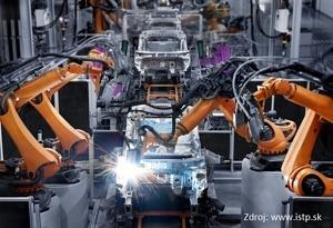 Roboty v automobilovom priemysle